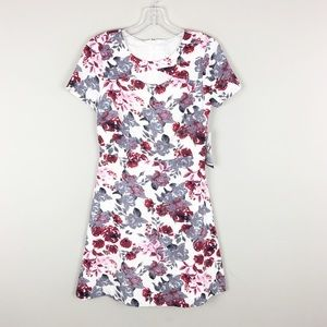 Kensie | Floral Cutout Print Dress - M5